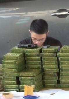 Cao Bằng: Bắt 2 đối tượng vận chuyển 86 bánh heroin