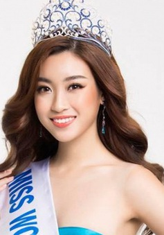 Đỗ Mỹ Linh kêu gọi sự ủng hộ tiếp thêm động lực dự thi Hoa hậu Thế giới 2017