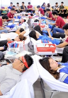 Hôm nay (14/6) - Ngày quốc tế người hiến máu