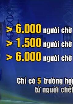Hơn 10.000 người đăng ký hiến tạng