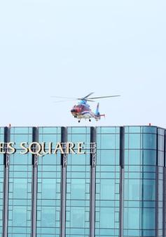 Triển khai dịch vụ trực thăng đón khách từ trung tâm TP.HCM