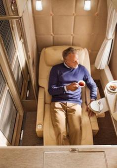 Emirates ra mắt khoang hạng nhất mới siêu sang trên Boeing 777-300ER