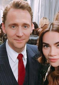 """Hồ Ngọc Hà phấn khích gọi Tom Hiddleston là """"người yêu"""""""