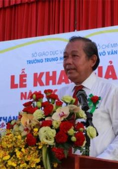 Lãnh đạo Đảng, Nhà nước dự lễ khai giảng năm học mới