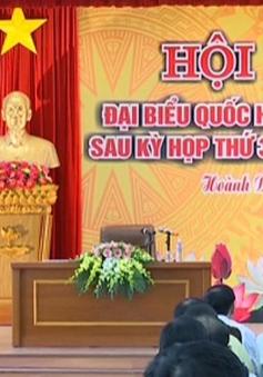 Đồng chí Phạm Minh Chính tiếp xúc cử tri Quảng Yên, Quảng Ninh