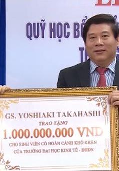 Trao Quỹ học bổng Takahashi 1 tỷ đồng cho sinh viên Đà Nẵng