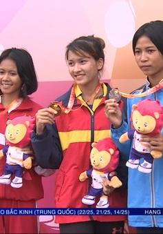 Những tấm HCV đầu tiên của Việt Nam tại Đại hội thể thao học sinh Đông Nam Á 2017