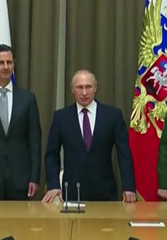 Tổng thống Putin và Tổng thống al-Assad hội đàm, bàn về tương lai của Syria