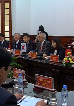 Hội đàm ngành Tòa án Việt Nam - Hàn Quốc
