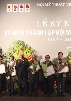 Kỷ niệm 60 năm thành lập Hội Mỹ thuật Việt Nam