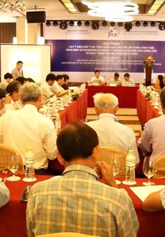 Lấy ý kiến góp ý dự thảo Nghị định sửa đổi, bổ sung Nghị định 66 về phát triển ngành nghề nông thôn