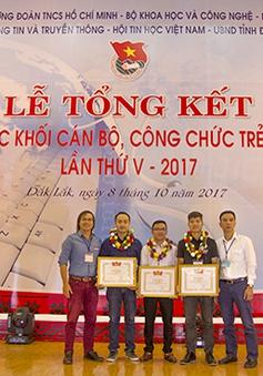 VTV đoạt giải Ba tại Hội thi Tin học khối cán bộ, công chức trẻ toàn quốc 2017
