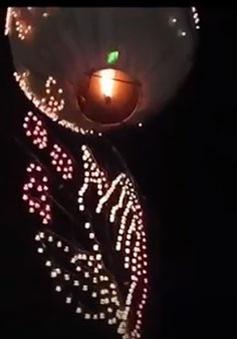 Hình ảnh lễ hội khinh khí cầu lửa Taunggyi tại Myanmar