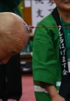 Cuộc thi đặc biệt của những VĐV hói tại Nhật Bản