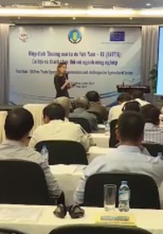 Hội thảo về Hiệp định thương mại tự do Việt Nam – EU