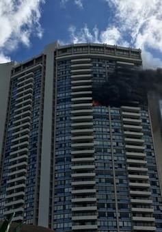 Cháy chung cư tại Honolulu, Mỹ
