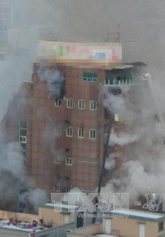 Hàn Quốc điều tra vụ hỏa hoạn ở trung tâm thể hình