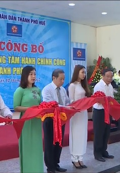 Thừa Thiên - Huế thành lập trung tâm hành chính công