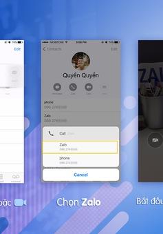 Gọi điện thoại không cần mở ứng dụng, bước tiến mới của MXH Việt