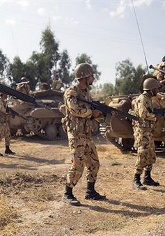 Iran chuẩn bị tập trận