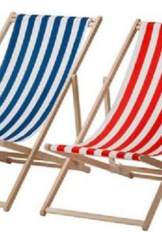 Ikea thu hồi hàng loạt ghế bãi biển