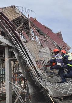 Bà Rịa-Vũng Tàu: Sập giàn giáo công trình, 7 người bị thương