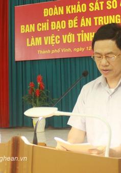 BCĐ Đề án Trung ương 6 làm việc với huyện Diễn Châu, tỉnh Nghệ An