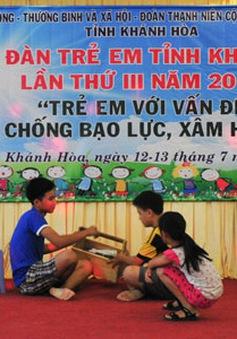Khai mạc Diễn đàn trẻ em tỉnh Khánh Hòa lần thứ III năm 2017