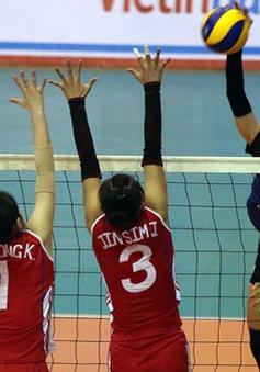 Giải bóng chuyền Cúp VTV9 - Bình Điền 2017: NH Công Thương gục ngã trước CLB 4.25 sau 3 set