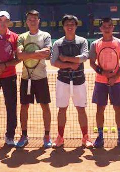 ĐT quần vợt Việt Nam để ĐT Iran dẫn trước 2-0 ở Davis Cup
