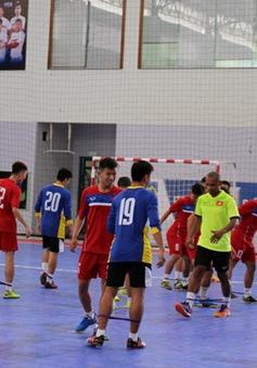 ĐT Futsal nam Việt Nam trước trận ra quân tại SEA Games 29