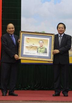 Phát hành đặc biệt bộ tem bưu chính kỷ niệm 106 năm Ngày sinh của Đại tướng Võ Nguyên Giáp