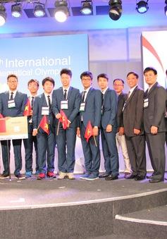 Việt Nam liên tục tạo đỉnh cao tại Olympic quốc tế 2017