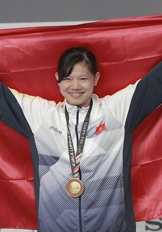 Ánh Viên chia nửa vui buồn trong ngày lập kỷ lục tại SEA Games 29