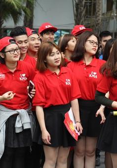 Nô nức ngày hội tư vấn tuyển sinh 2017 lớn nhất khu vực phía Bắc