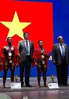 Thể hình Việt Nam thi đấu thành công tại giải VĐTG