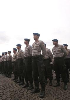 Indonesia tăng cường an ninh dịp Giáng sinh và năm mới 2018