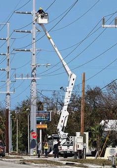 Gần 40% hộ dân tại Florida, Mỹ đã có điện trở lại sau bão Irma
