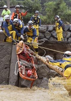 15 người thiệt mạng do mưa lũ tại Nhật Bản