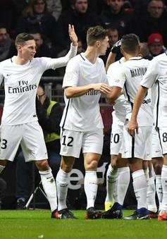 Vòng 20 Ligue I, Rennes 0-1 PSG: Chiến thắng tối thiểu