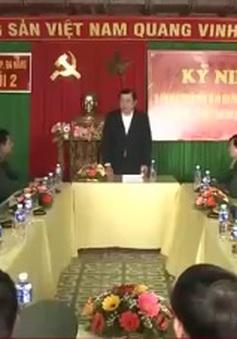Chủ tịch UBND TP Đà Nẵng thăm Hải đội 2 Bộ đội Biên phòng