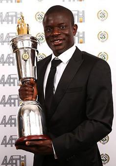 N'Golo Kante xuất sắc nhất Ngoại hạng Anh mùa bóng 2016-17