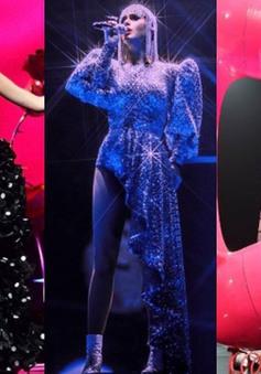 Katy Perry mặc 3 trang phục của NTK Nguyễn Công Trí trong tour diễn Witness