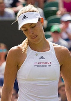 Vòng 4 đơn nữ Wimbledon 2017: Angelique Kerber bị loại