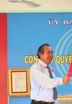Phó Thủ tướng Trương Hòa Bình dự lễ khai giảng năm học mới tại Long An