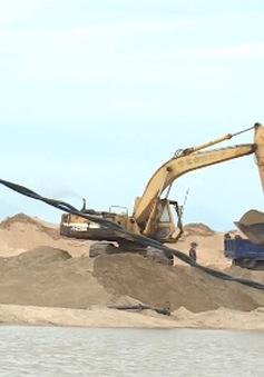 Cà Mau yêu cầu bình ổn giá cát xây dựng