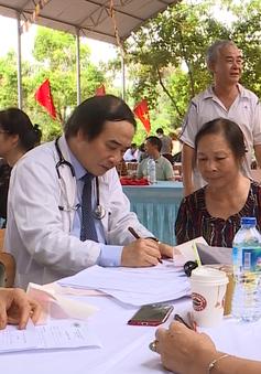 Khám bệnh miễn phí cho 711 đối tượng chính sách ở Bắc Giang