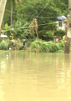 Phú Yên: Một người thiệt mạng do chèo sõng trong mưa lũ