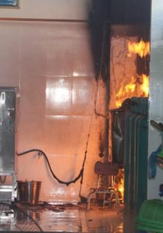 Bình gas phát hỏa, hàng trăm giáo viên, học sinh mầm non may mắn thoát chết