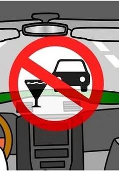 50.000 phiếu taxi miễn phí cho người uống rượu về nhà